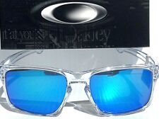 NEW* Oakley SLIVER Crystal Clear w Sapphire Blue Iridium Sunglass oo9262-06