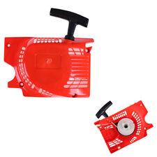 Arrancador de retroceso rojo para la motosierra china 4500 5200 5800 45 52cc SZ2