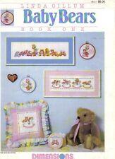 Dimensions Baby Bears Book One Cross Stitch Linda Gillum Spc484