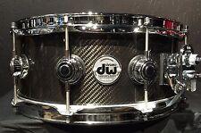 DW Drums Drum Workshop 5.5x14 Collector's Snare drum Carbon Fiber new