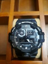 Casio G-Shock GA700 Wristwatch for Men with Black Dial