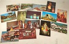 15 Vtg 1970S Walt Disney World Full Color Unused Unposted Postcards Souvenir