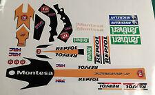 MONTESA cota 315R, 315 R Repsol STICKER/DECAL set