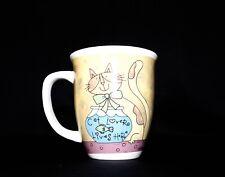 "Gibson ""Cat Lover Lives Here"" Coffee Mug"