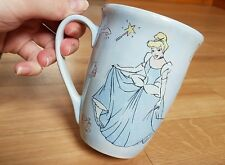 Cinderella Disney Mug blue Disney store official mug Princess mug tea coffee
