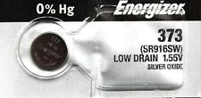 1 New ENERGIZER SR916SW 373 1.55V Watch Batteries Aussie Stock Made in JAPAN