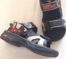 Sandals Iron Man boys size 2.5M EUR 34.5 man made materials lights new Marvel