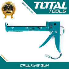 Total Tools CAULKING GUN Heavy Duty Silicone Sealant Applicator - Professional