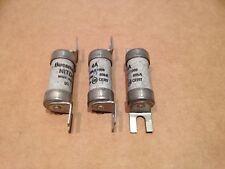 Qty 3  BUSSMANN 4 AMP CARTRIDGE FUSE NITD4