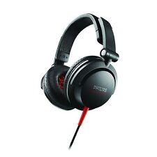 Philips Shl3300 DJ Monitor Headphones Black 40mm Neodymium Speaker Driver 2200mw