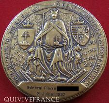 MED3744 - MEDAILLE SCEAU RENE d'ANJOU - MAINE & LOIRE - attribuée à un Général