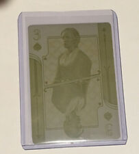Cryptozoic Outlander Season 4 Yellow Printing plate of card 3 of spades- Jenny