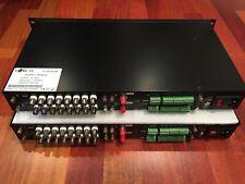 AV Optical Converter: 16-channel video + 32-channel audio, ST, multimode fiber