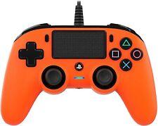 Mando con cable Nacon Compacto naranja para PS4 PC NUEVO envio gratis