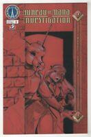Bureau of Mana Investigation #3 (May 2002, Radio Comix) Print Run 2,000 copies w