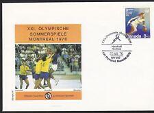 Kanada, FDC Olympische Spiele Montreal MiNr. 617, 1976 Montreal 25.07.1976