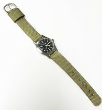 Benrus Military MIL-W-46374 General Purpose Serial #10114 St. Steel Back Watch