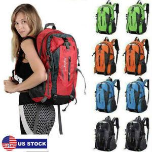 40 Liter Outdoor Backpack Waterproof Men Bag Rucksack Camping Bag Travel Hiking