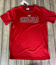 Russell Athletics Dri Power Youth El Paso Chihuahuas Baseball Red T Shirt Size L