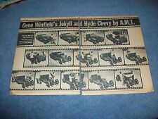 Gene Winfield's Jekyll & Hyde Chevy by AMT Vintage Article 1931 Chevy & Camaro