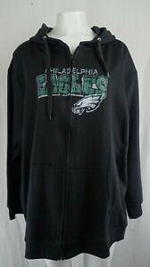 Philadelphia Eagles NFL Women's Plus Size Full Zip Hoodie *Multiple Colors*