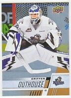 2017-18 Upper Deck CHL RAINBOW ROOKIE RC Griffen Outhouse  #127