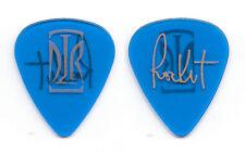 David Lee Roth Rocket Ritchotte Signature Clear Blue Guitar Pick - 1993-94 Tour