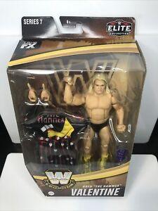 WWE Legends Elite Collection Series 7 Greg The Hammer Valentine Action Figure