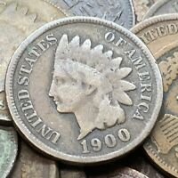 Indian Head Cent 1 Penny Copper Coin  Buy 3 Get 1 Free