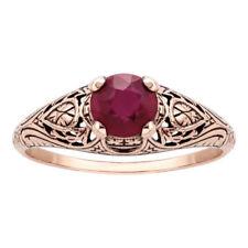 Anelli di lusso rubino misura anello 8