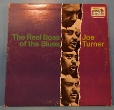 BIG JOE TURNER THE REAL BOSS OF THE BLUES LP 1969 ORIGINAL PLAYS GREAT! VG/VG+!!