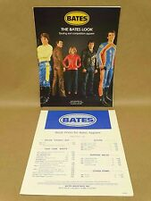 Vtg 1984 Bates Leathers Motorcycle Clothing Racing Apparel Pants Boots Catalog