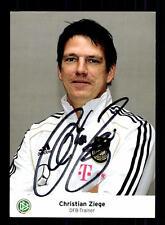 Christian Ziege DFB Autogrammkarte Original Signiert+159304
