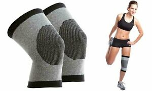 Bamboo Comfort Self-Warming Knee Support - (1 pair)