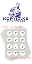 "KOPYKAKE 2"" Circle Frosting Sheet  Edible Paper Icing Sheet - KJFS2RND"
