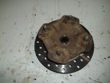 2006 HONDA RUBICON 500 4WD FRONT HUB WITH ROTOR