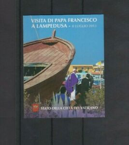 Vatican City 2013 Journeys of Pope Francis Booklet MNH  per scan