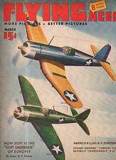 1943 Flying Aces March Pulp - German Bombers;Liaison Pilot;Corsair & Thunderbolt