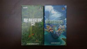Super Famicom Seiken Densetsu 2 3 Secret of Mana Boxed Japan SFC games US Seller