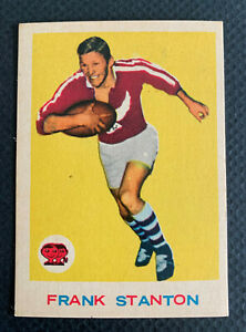 1964 PRISTINE RUGBY LEAGUE SCANLENS FRANK STANTON 4/33 CARD SET LEGEND MANLY