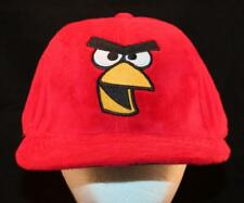 Men's Retro Red ANGRY BIRDS Rovio Entertainment Anime Video Game Hat Cartoon Cap