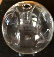 "Blodgett Glass Hand Blown Triple Votive Candle Holder Bubble Lite Sphere 7 1/2"""