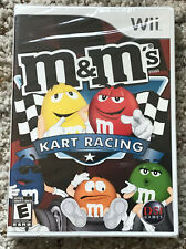 M&Ms Brand Kart Racing Nintendo WII DSI Games 2007 Brand New Factory Sealed