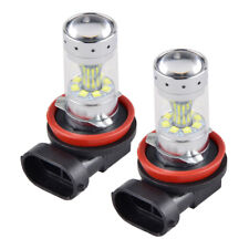 H16 H11 LED Fog Light DRL Bulbs For Mazda 2 3 5 6 CX-5 CX-7 CX-9 MX-5 Miata RX-8