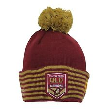QLD Maroons State of Origin 2018 Bobble Beanie