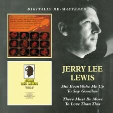Jerry Lee Lewis - She Even Woke Me Up to Say Goodbye / There Must Be [New CD] Rm