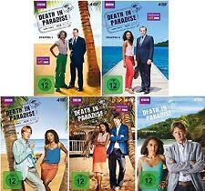20 DVDs * DEATH IN PARADISE - SEASON / STAFFEL 1 - 5 IM SET # NEU OVP &