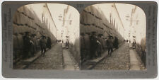 Keystone Stereoview Wall of Incan Palace, Cuzco, PERU from 1910's Education Set