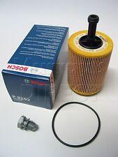 OEM BOSCH Oil Filter & Sump Plug for VW T5 Transporter 2.5 Diesel TDI 2004> 2010