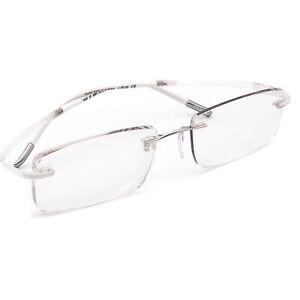 Silhouette Eyeglasses 7688 02 6051 7690 Titan White Rimless Austria 52[]17 135